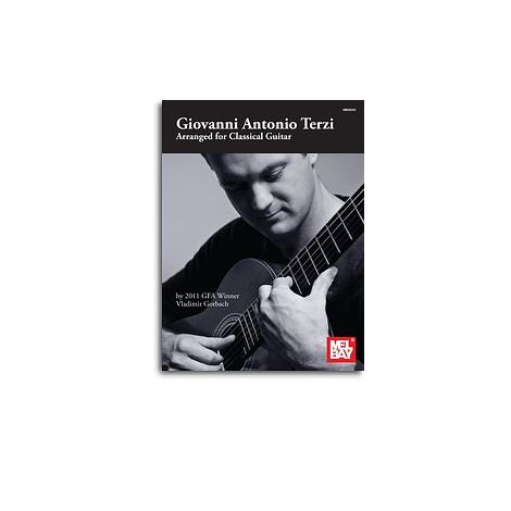 Giovanni Antonio Terzi: Arranged For Classical Guitar (Book)