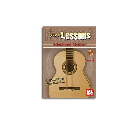 William Bay: First Lessons - Classical Guitar (Book/CD)
