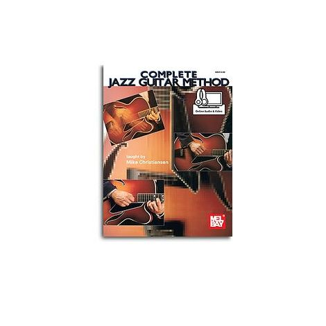 Mike Christiansen: Complete Jazz Guitar Method (Book/Online Audio)