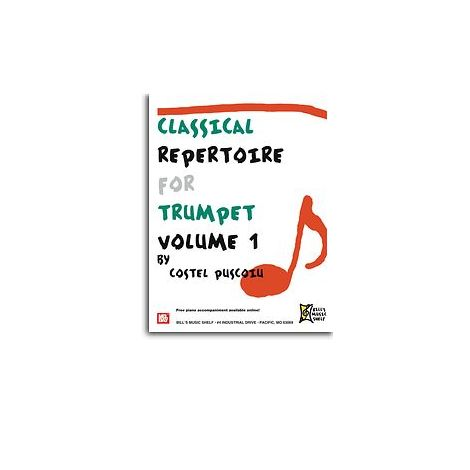 Classical Repertoire for Trumpet, Volume 1