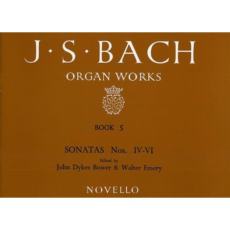 J.S. Bach: Organ Works Vol.5 (Novello)