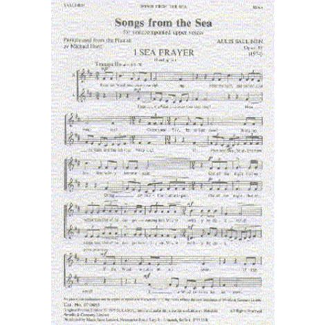Aulis Sallinen: Songs From The Sea Op.33