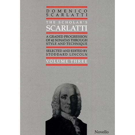 Domenico Scarlatti: Scholar's Scarlatti Volume Three