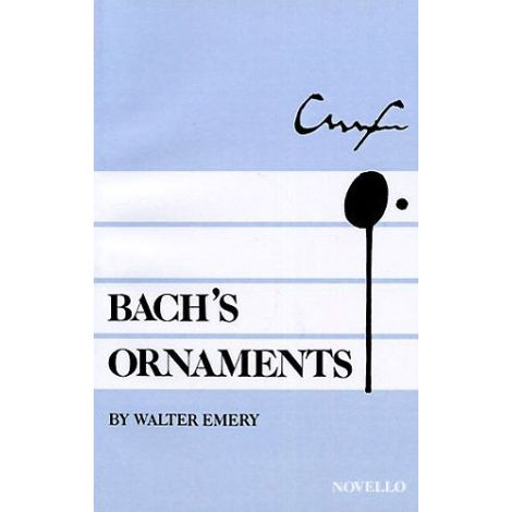 Walter Emery: Bach's Ornaments