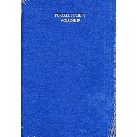 Purcell Society Volume 19 - The Indian Queen (Hardback Full Score)