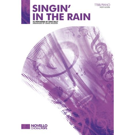 Gene Kelly: Singin' In The Rain - TTBB/Piano