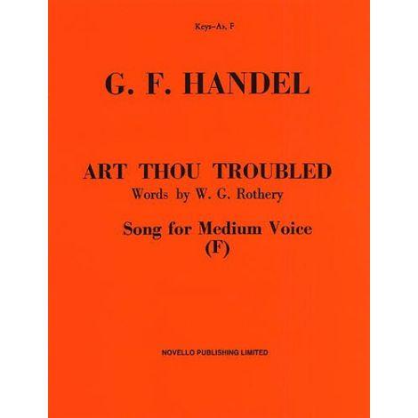 Handel: Art Thou Troubled (Medium Voice)