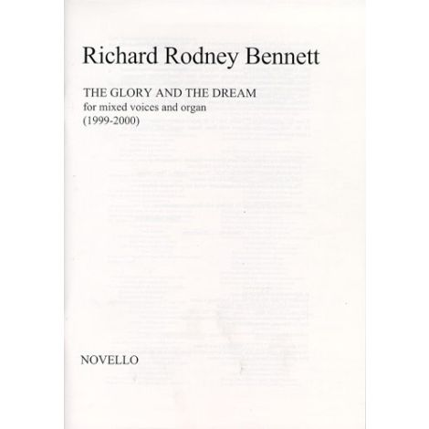 Richard Rodney Bennett: The Glory And The Dream