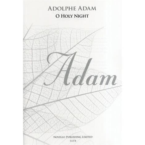 Adolphe Adam: O Holy Night - SATB (New Engraving)
