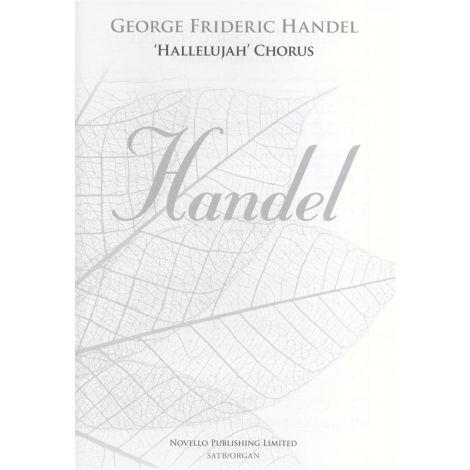 George Frideric Handel: 'Hallelujah' Chorus SATB/Organ (New Engraving)