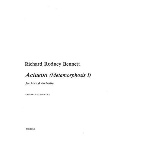 Richard Rodney Bennett: Actaeon (Metamorphosis I)