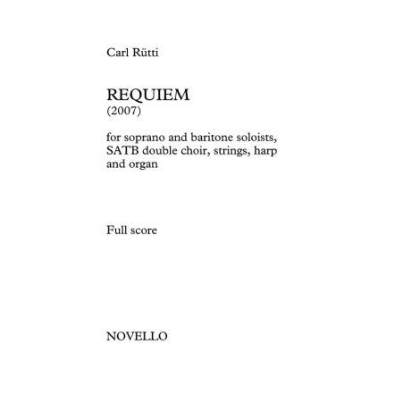 Carl R闂佹眹鈧潰i: Requiem (Vocal Score)