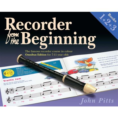 Recorder From The Beginning - Omnibus Edition (Books 1+2+3)