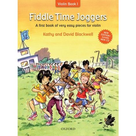 Blackwell: Fiddle Time Joggers (Book & CD) Revised