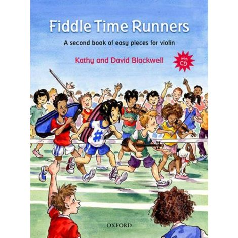 Blackwell: Fiddle Time Runners (Book & CD) Revised