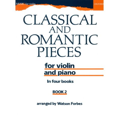 Classical and Romantic Pieces for Violin Book 2 (V