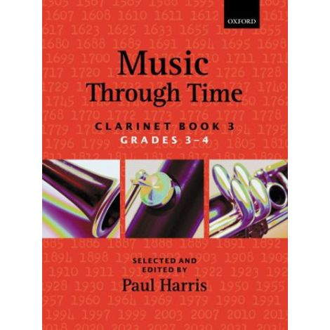Music Through Time: Clarinet Book 3