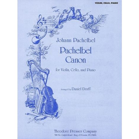 Pachelbel Canon (for Violin, Cello and Piano)
