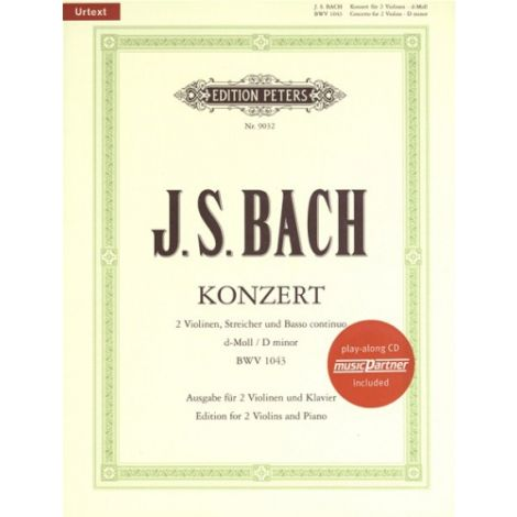 Bach: Double Concerto in D Minor BWV1043 with CD (
