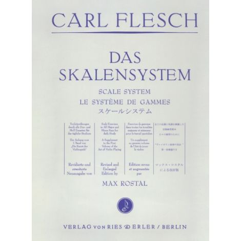 Flesch: Scale System for Violin