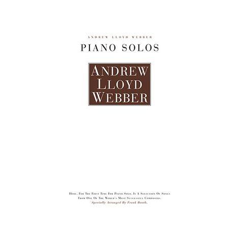 Andrew Lloyd Webber: Piano Solos