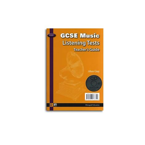 Alun Guy: WJEC GCSE Music Listening Tests - Teacher's Guide/CD (English/Welsh)