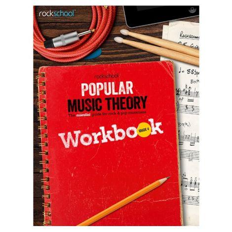 ROCKSCHOOL POPULAR MUSIC THEORY WORKBOOK GRADE 4 BK