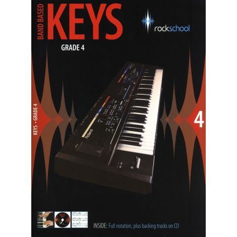 Rockschool: Band Based Keys - Grade 4
