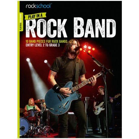 ROCKSCHOOL PLAY IN A ROCK BAND BK