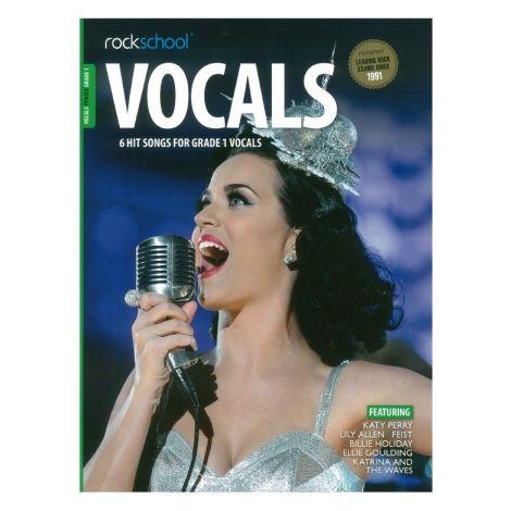 ROCKSCHOOL FEMALE VOCAL GRADE 1 VCE BOOK & ONLINE AUDIO