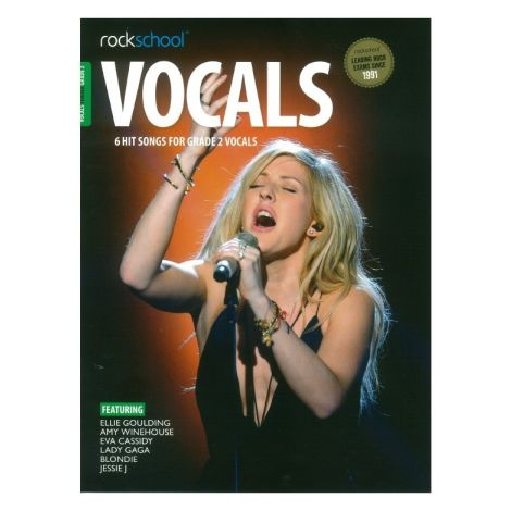 ROCKSCHOOL FEMALE VOCAL GRADE 2 VCE BOOK & ONLINE AUDIO