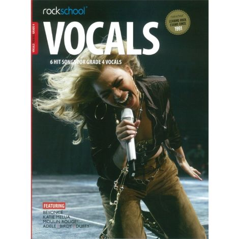 ROCKSCHOOL FEMALE VOCAL GRADE 4 VCE BOOK & ONLINE AUDIO
