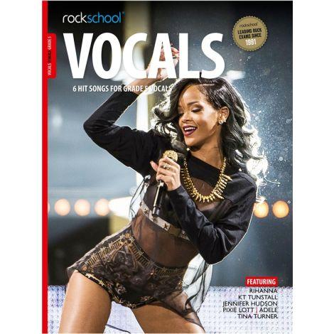 ROCKSCHOOL FEMALE VOCAL GRADE 5 VOICE BOOK & ONLINE AUDIO