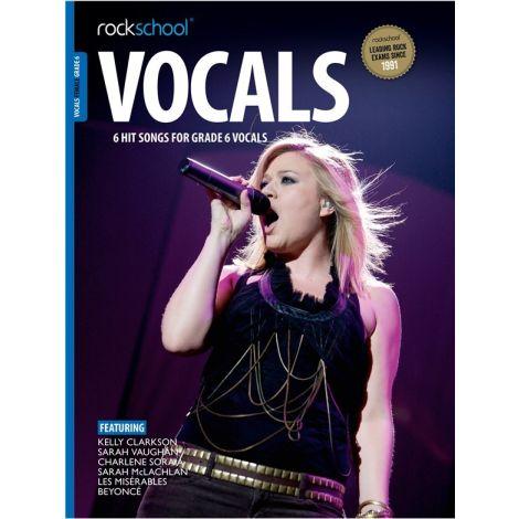 ROCKSCHOOL FEMALE VOCAL GRADE 6 VCE BOOK & ONLINE AUDIO