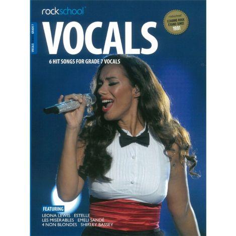 ROCKSCHOOL FEMALE VOCAL GRADE 7 VCE BOOK & ONLINE AUDIO