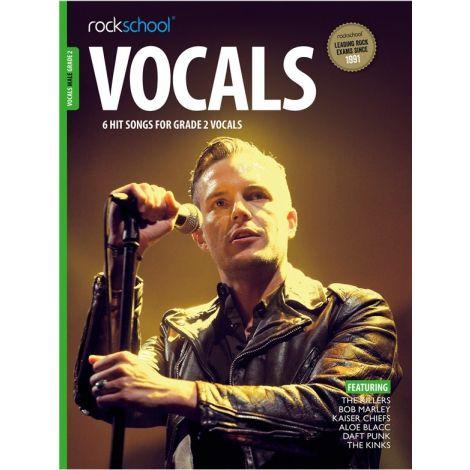 ROCKSCHOOL MALE VOCAL GRADE 2 BK/AUDIO ONLINE