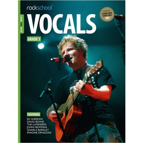 ROCKSCHOOL MALE VOCAL GRADE 3 VOICE BOOK & AUDIO ONLINE