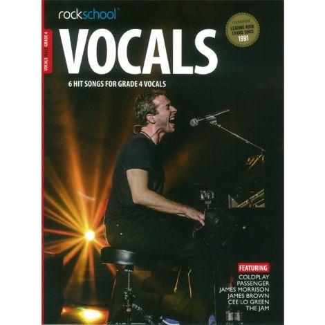 ROCKSCHOOL MALE VOCAL GRADE 4 VCE BOOK & ONLINE AUDIO