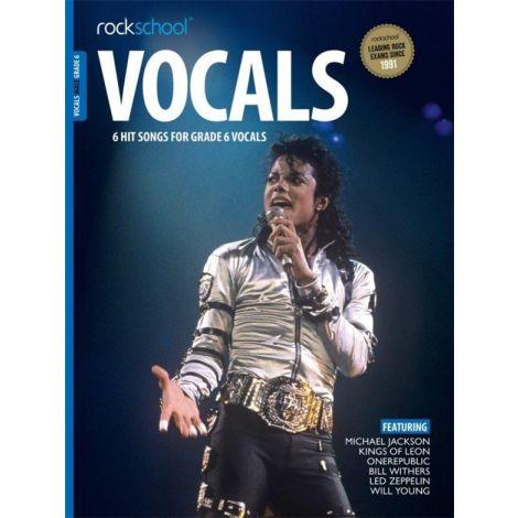 ROCKSCHOOL MALE VOCAL GRADE 6 VCE BK/AUDIO ONLIN