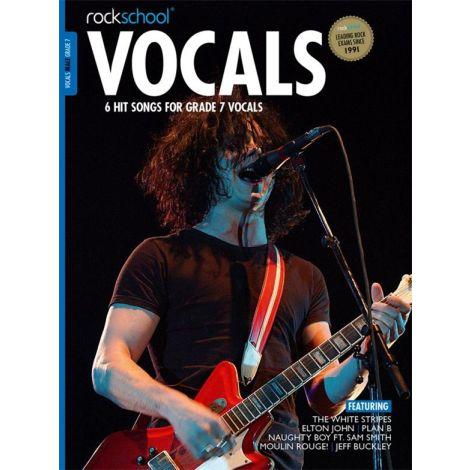 ROCKSCHOOL MALE VOCAL GRADE 7 VCE BK/DOWNLOAD CARD