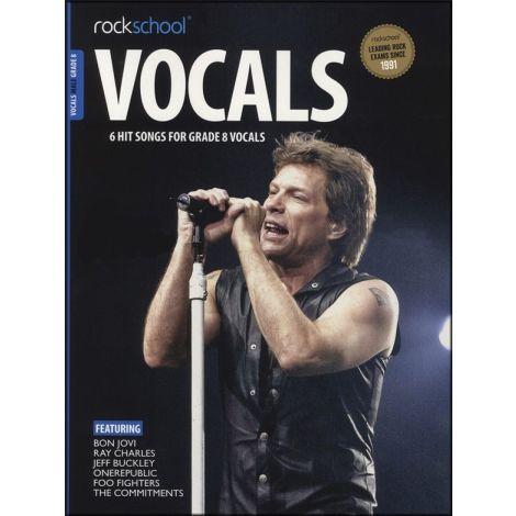 ROCKSCHOOL MALE VOCAL GRADE 8 VCE BK/AUDIO ONLINE