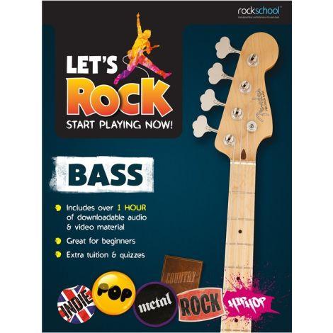 ROCKSCHOOL LETS START PLAYING NOW BASS GUITAR BGTR BK/AUDIO ONLINE