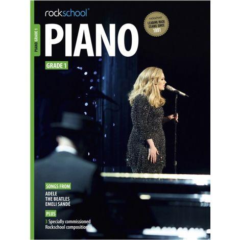 ROCKSCHOOL PIANO GRADE 1 2015-2018 PF BK
