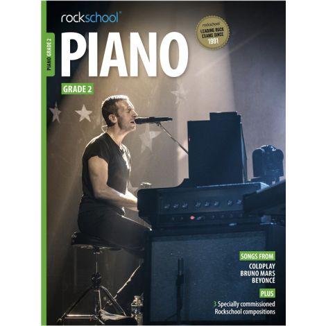 ROCKSCHOOL PIANO GRADE 2 2015-2018 PF BK