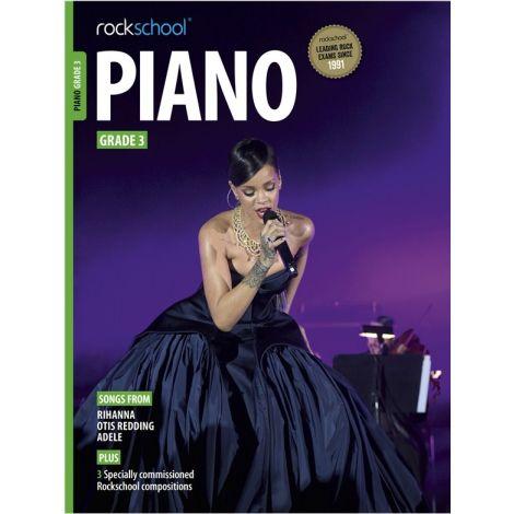ROCKSCHOOL PIANO GRADE 3 2015-2018 PF BK