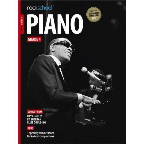 ROCKSCHOOL PIANO GRADE 4 2015-2018 PF BK