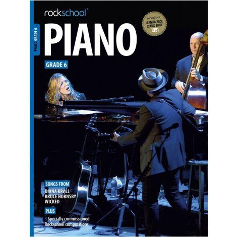 ROCKSCHOOL PIANO GRADE 6 2015-2018 PF BK