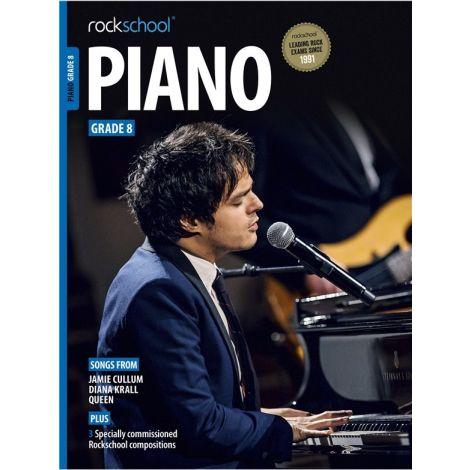 ROCKSCHOOL PIANO GRADE 8 2015-2018 PF BK