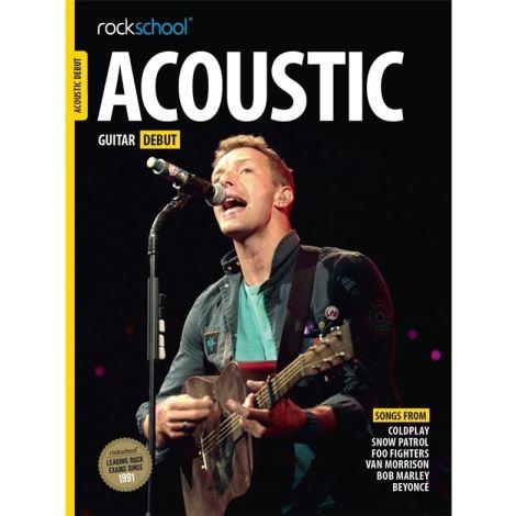 ROCKSCHOOL ACOUSTIC GUITAR DEBUT 2016 GTR BOOK