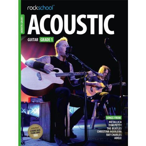 ROCKSCHOOL ACOUSTIC GUITAR GRADE 1 2016 GTR BOOK